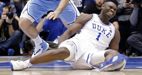 Shoe malfunction puts U.S. College sports under microscope