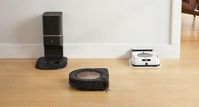 iRobot dynamic duo vacuums and jet mops work in tandem