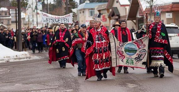 I stand with the Wet'suwet'en people