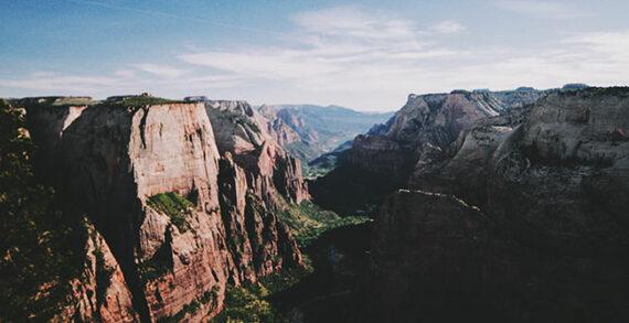 Zion National Park a walker's paradise