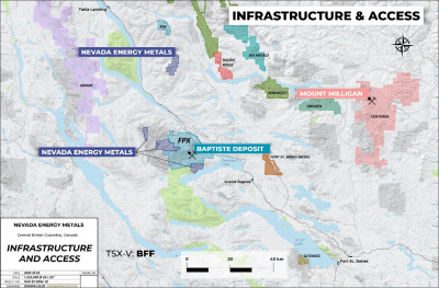 Nevada Energy Metals Acquires Two Additional Nickel Exploration Properties in British Columbia