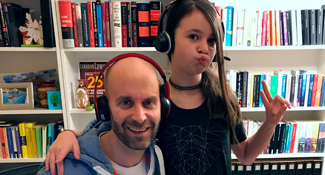 Family-friendly podcast decodes basics of criminal law for children