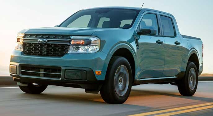 Ford's Maverick brings hybrid tech to compact pickup trucks