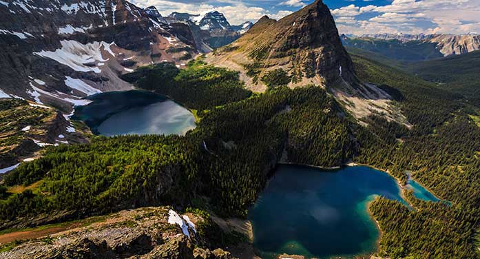 Lakes in Canadian Rockies losing turquoise lustre as glaciers fade